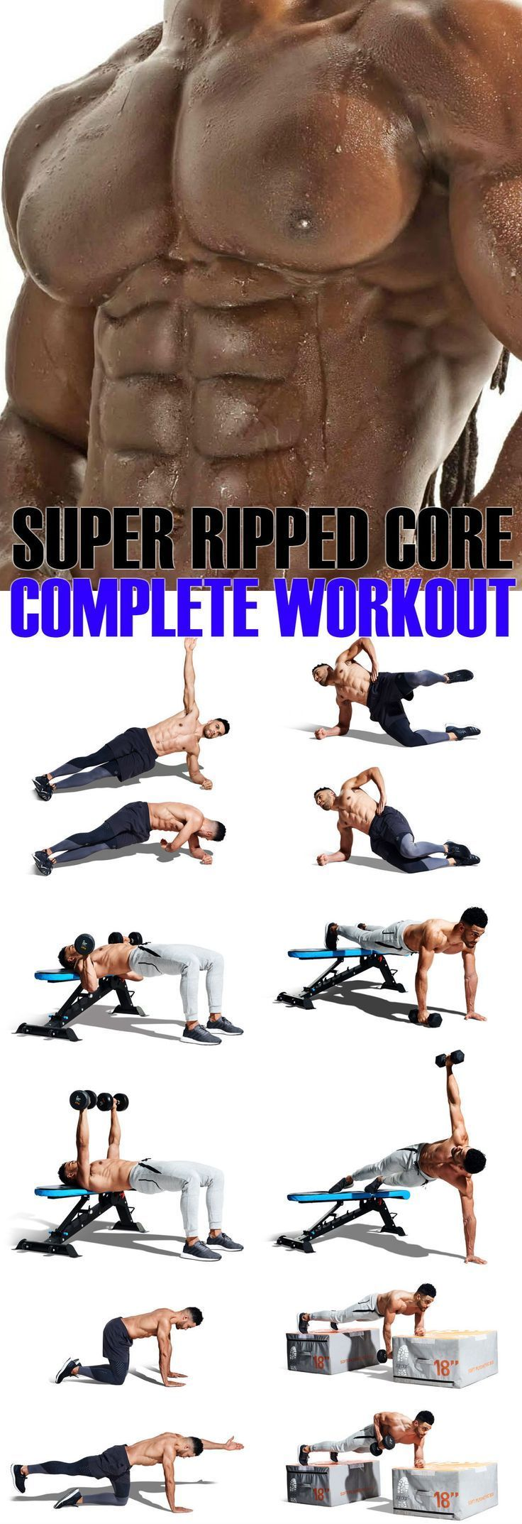 4 Week Plan To Rock Your Core Into Super Ripped Fo…