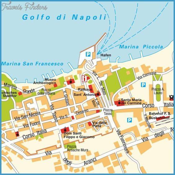 cool Sorrento Map