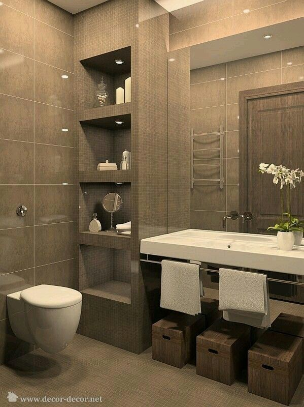 Modern Bathrooms   – Bagno mansarda