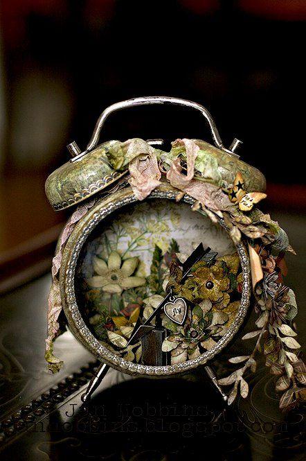 Other: Altered Tim Holtz Clock