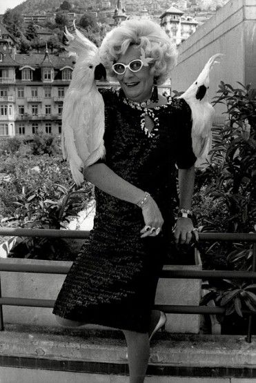 """""""Hello Possums!"""" Do you remember staying up and watching Dame Edna on her comedy show? Hilarious."""