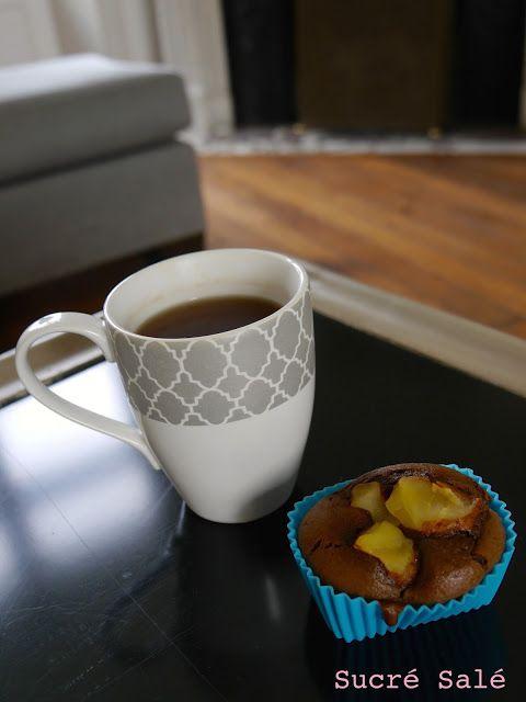 Pour l'automne c'est tellement agréable de prendre un thé accompagné d'un petit gâteau pour le goûter.   Aujourd'hui j'associ...