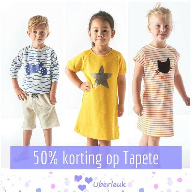 Kinderkleding Korting.Vanaf Vandaag Shop Je De Te Gekke Printjes Van Tapete Met 50