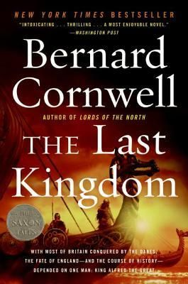 The Last Kingdom by Bernard Cornwell - In the middle years of the ninth century, the fierce Danes stormed onto British soil, hungry for spoils and conquest. Kingdom  after kingdom fell to the ruthless invaders until but one realm remained. And suddenly the  fate of all England - and the course of history - depended upon one man, one king.