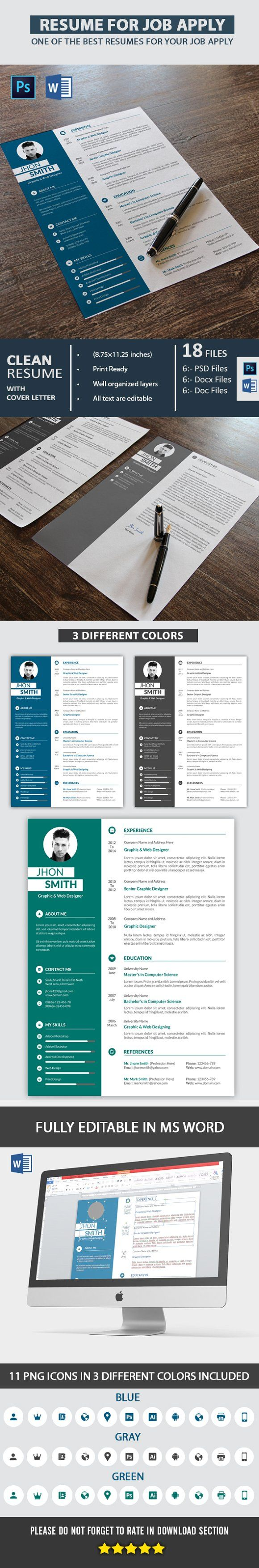 resume and cover letter difference%0A Resume  u     Cover Letter by Mehrographix on