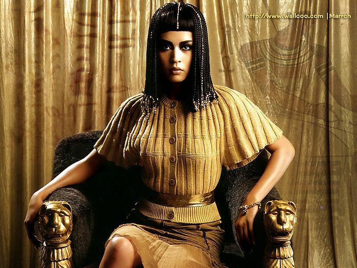 a description of the cleopatra an egyptian queen Caesar remained in egypt with cleopatra for a time  did skin cream kill egypt's queen hatshepsut ask history what are the ides of march history lists.
