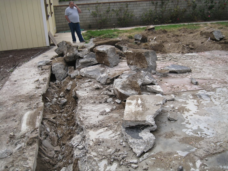 1000 images about demolition on pinterest pictures of disposal services and house for Swimming pool demolition los angeles