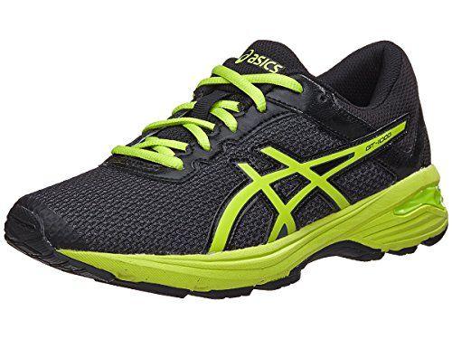 ASICS UnisexKids GT1000 6 GS Running Shoe BlackEnergy GreenSilver 7 Medium  US Big Kid -- 0b0d50565e