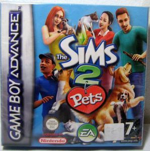 Complete Sims 2 Pets - Game Boy Advance
