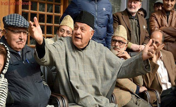 Farooq Abdullah Bats for Stonepelters, Says They're Doing it For Nation