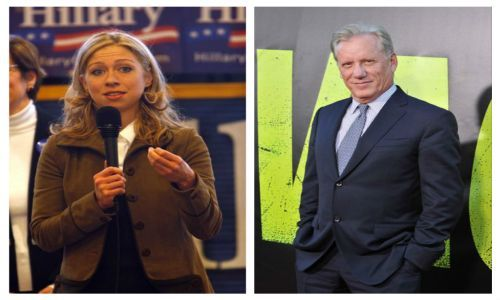 James Woods calls out Chelsea Clinton's story on why she left church at age 6