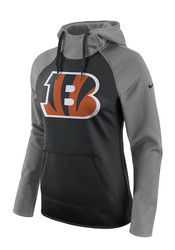 Nike Cincinnati Bengals Womens Black Tailgate All Time Hoodie