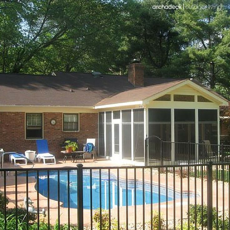 What Should You Build First Your Screened Porch Or Your