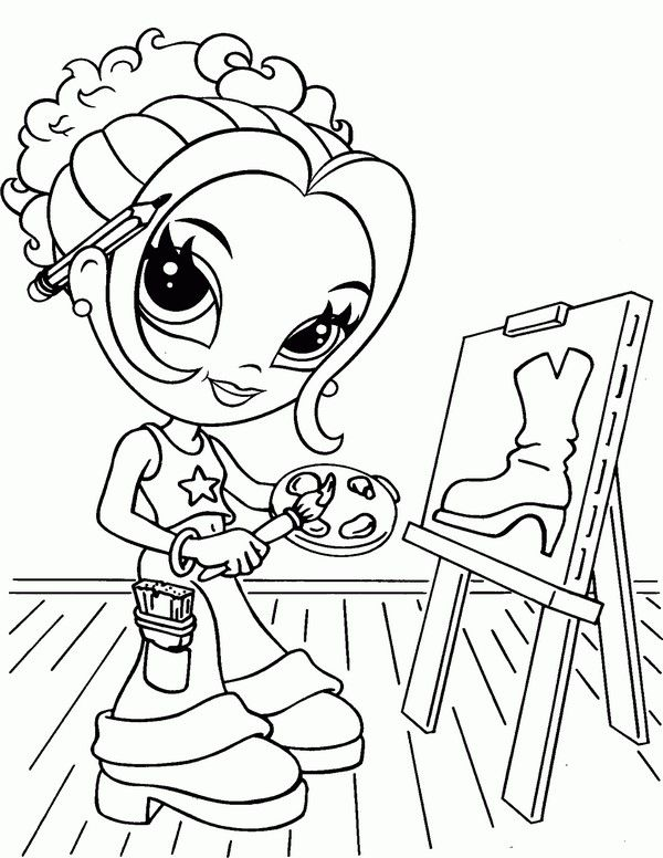 Lisa Frank Coloring Pages 16