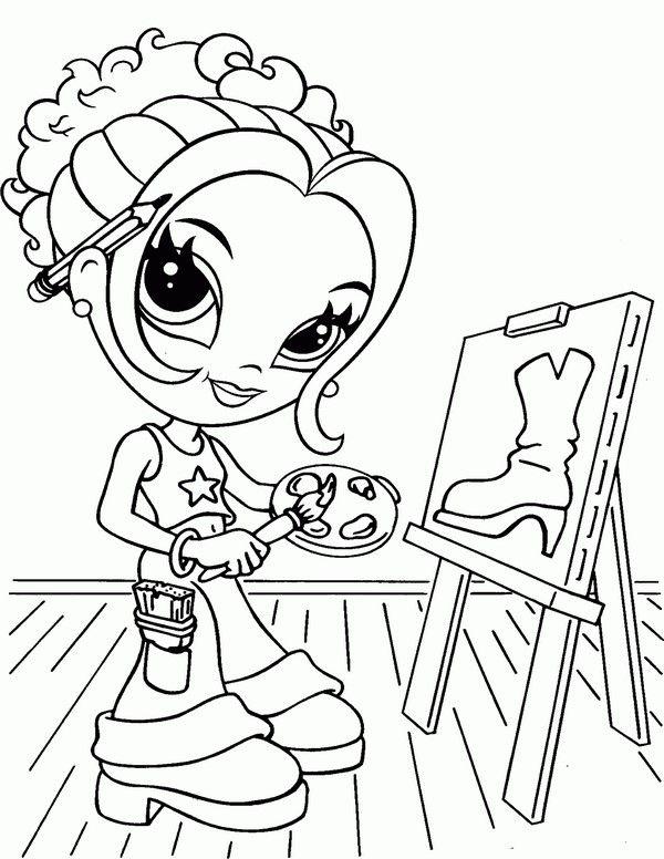 lisa frank coloring pages 16 - Lisa Frank Coloring Pages