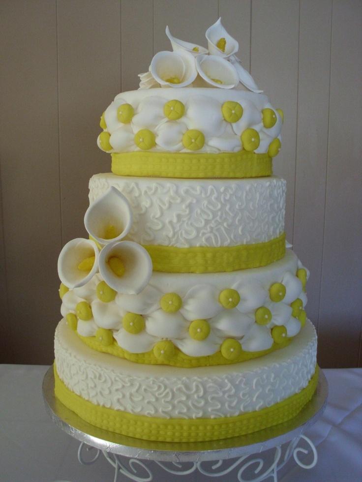 #yellow cake: Cakes Mixed, Cakes Ideas, Cakes Inspiration, Cakes Cakes, Wedding Cakes, Cakes 24, Beati Cakes, Beautiful Cakes, Bananas Cakes