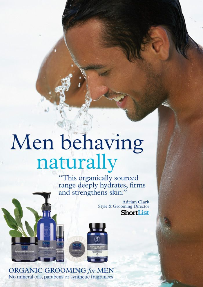 Neal's Yard Remedies organic for men