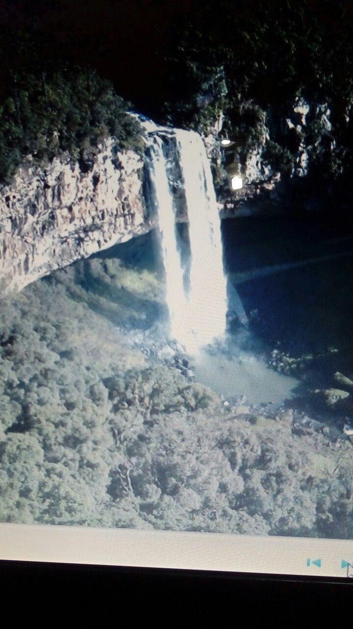 Cascata do Caracol, cidade de Canela, Rio Grande do Sul, Brasil.