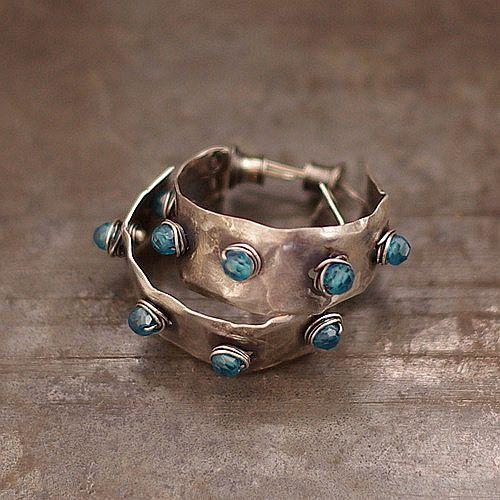 summer sale 10 % off coupon code SUMMER10 • blue topaz •   studs •   hoop  earrings •  sterling silver • small earrings