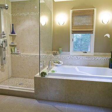 Pin by brenna lauren on for the home pinterest - Drop in soaking tubs design ideas ...