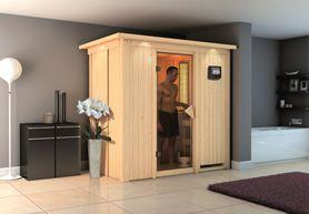 Sauneitalia.it - Produzione e vendita online di saune professionali finlandesi e infrarossi. Saune finlandesi linea Eco-Wood