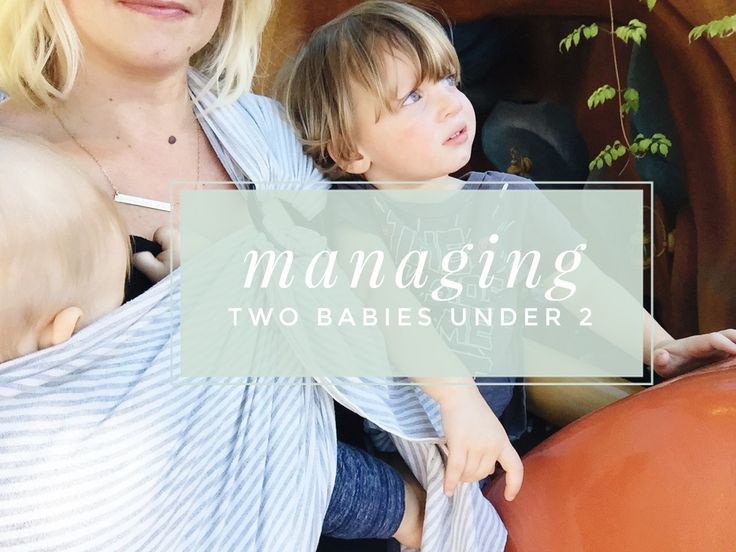such great tips for how to manage two kids under 2, especially with a newborn! How to breastfeed while managing a toddler and so many more tips!
