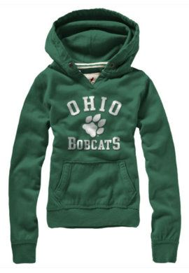 Product: Ohio University Bobcats Women's Hooded Sweatshirt