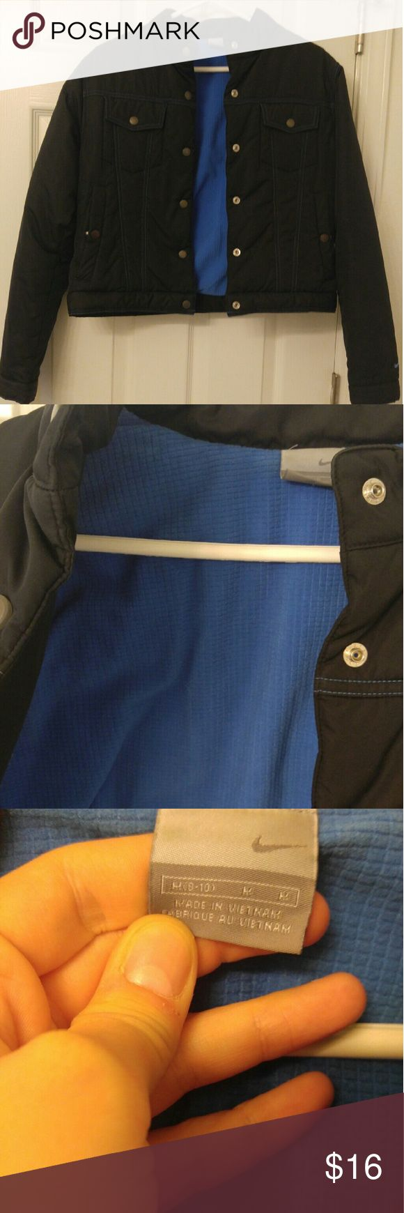 Nike Winter Coat Black Nike Winter coat. Very soft on the inside because of the extra lining! Nike Jackets & Coats