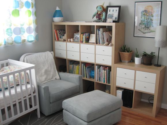 nursery with ikea expedit now kallax nursery pinterest ikea expedit nursery and blonde wood. Black Bedroom Furniture Sets. Home Design Ideas
