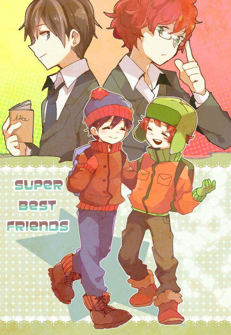 super best friends by yoyterra on deviantART Stan and Kyle, South Park