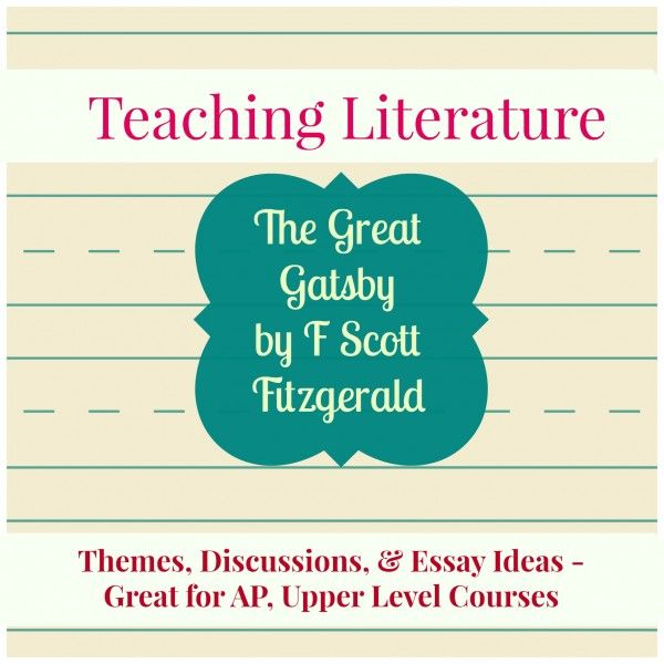 the great gatsby essay questions a level Symbolism in the great gatsby – essay sample higher level french letter discuss ideas & ask questions to your online community of teachers & students.