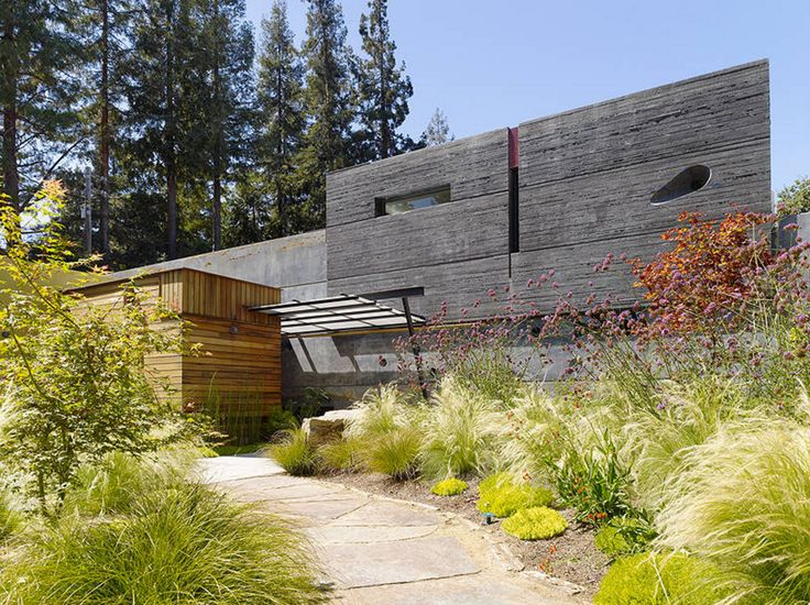 An interesting example of a concrete aesthetic which does not include tons of huge windows.