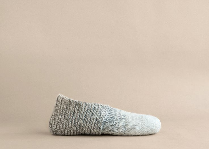 Simple House Slippers Pattern by Temple of Knit #slippers #knitting #free