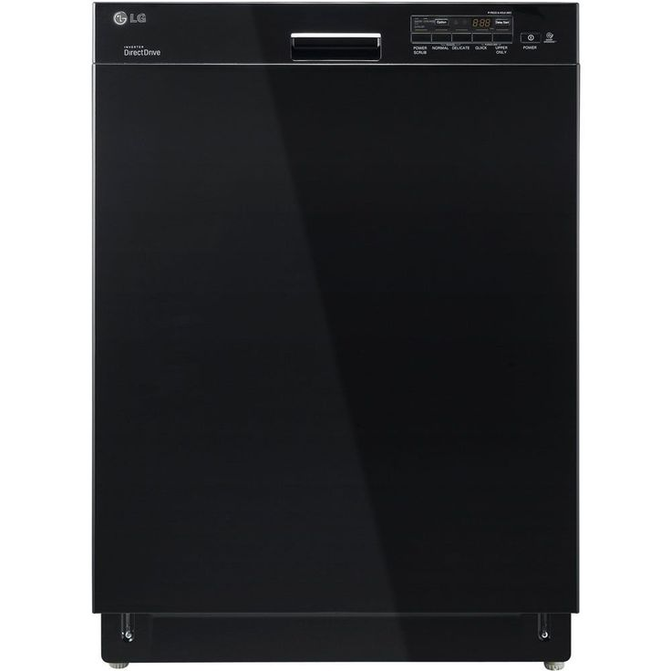 LG Semi-Integrated Dishwasher (Black) (Stainless Steel)