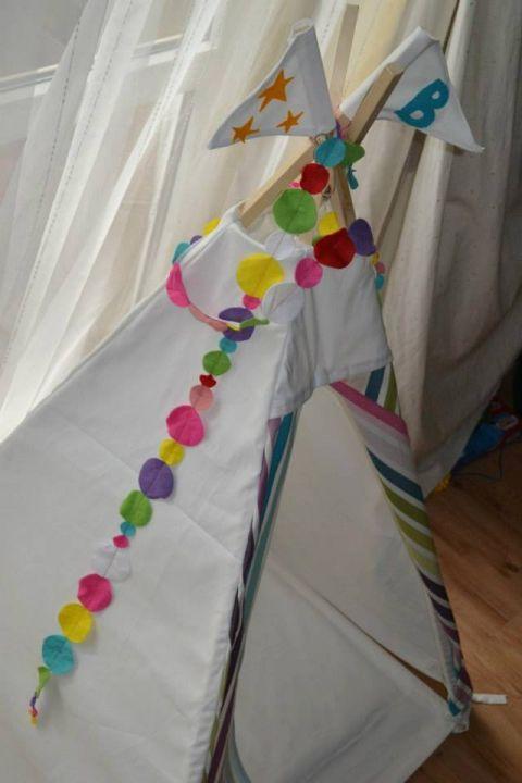 Quixotic - Játszó sátor, Baba-mama-gyerek, #Gyerekszoba, Gyerekbútor, #wigwam #tent #for #children