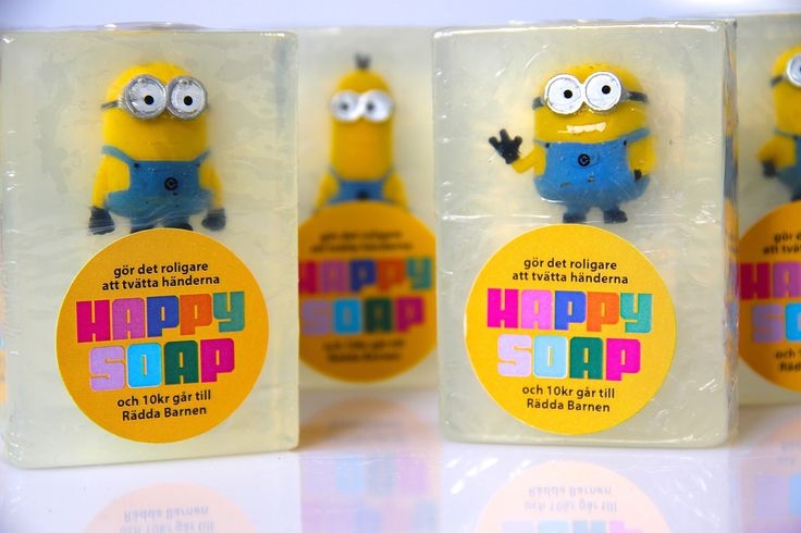 Minions in our Happy Soaps!