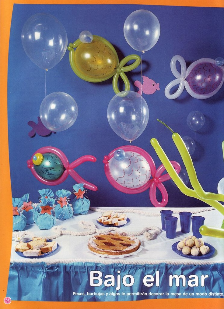 1000 images about manualidades con globos on pinterest - Manualidades con globos ...