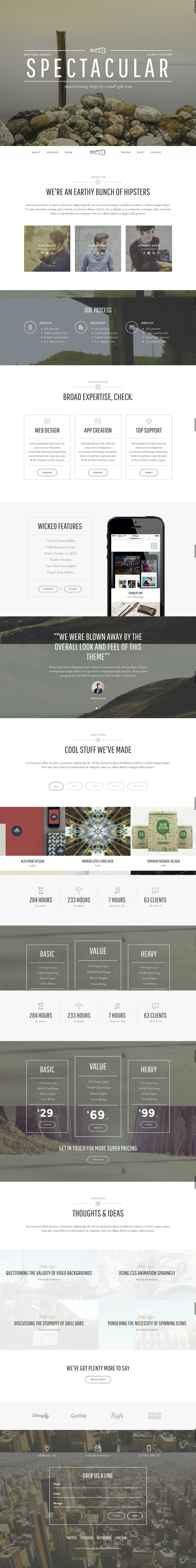 Thread – Multi-Purpose One + Multi Page Theme