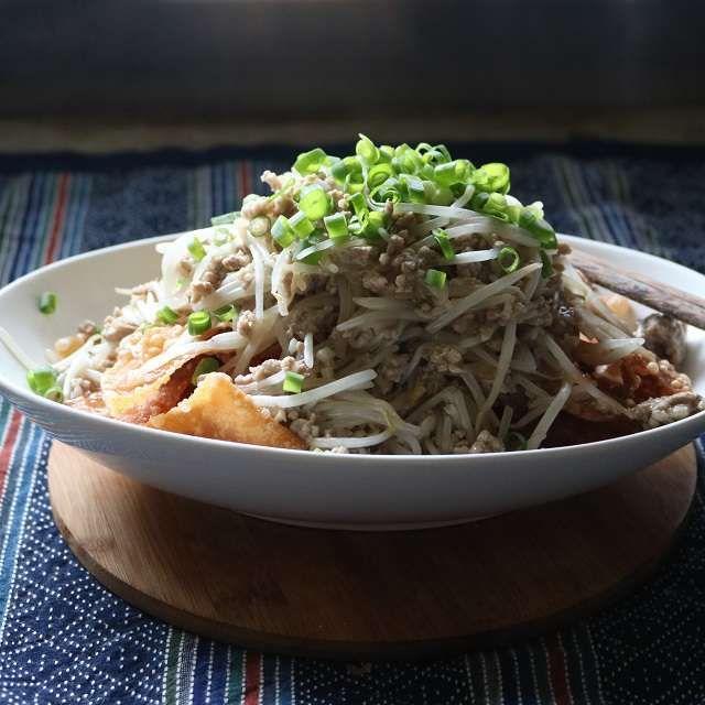 もやしの中華風あんかけ 野菜が高いですね…でも仕方ないんですよ…だって出来ないんだから…。