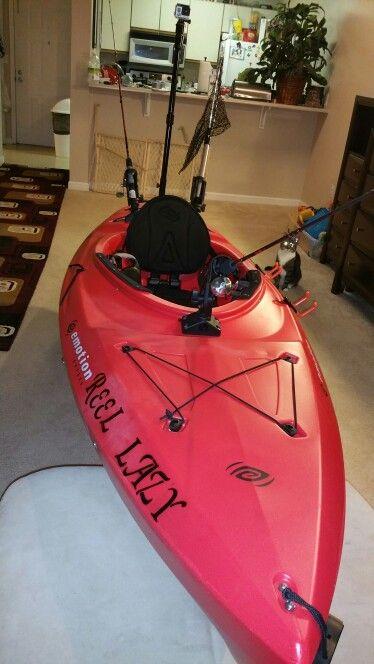 DIY Standard sit in Kayak upgrades
