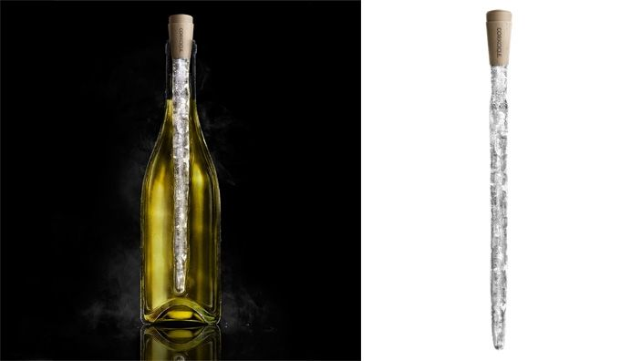 Cork-cicle wine chiller - what a great idea!: Corkcicle Wine, Wine Corks, White Wines, Gift Ideas, Wine Chiller, Chill White, Wine Bottle, Zane Lamprey, Chill Wine