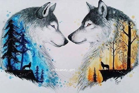 #wolfpainting