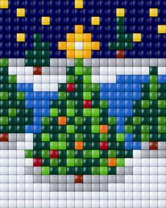 e485395f546a6b7197d0944d84a89c1d.jpg (236×295) Christmas Trees pixel art