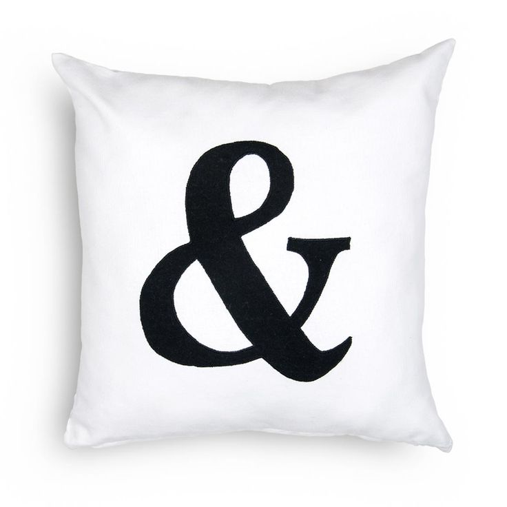 Ampersand Scatter Cushion - www.woolworths.co.za