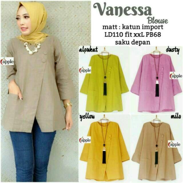 Temukan dan dapatkan RESTOK Vanessa blouse jumbo atasan kebaya batik modern seragam baju kantor tunik jumbo hijab bigsize hanya Rp95.000 di Shopee sekarang juga! https://shopee.co.id/satujiwa/215884104 #ShopeeID