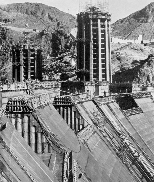 Construction of the Hoover Dam, 1931-1936 | Retronaut