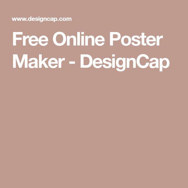 Free Online Poster Maker - DesignCap