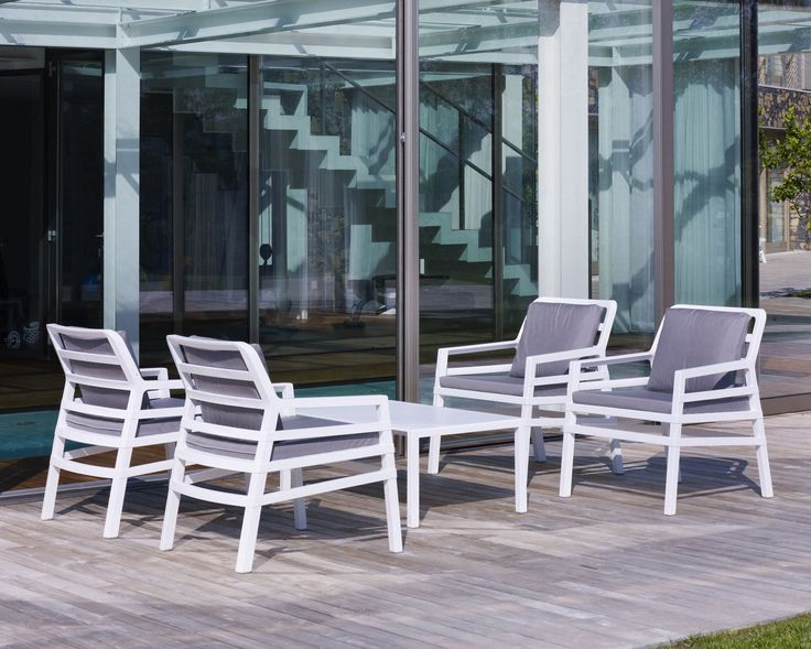 Experience Comfort With Nardi Aria Collection By Patios India.  #outdoorliving #furniture #design