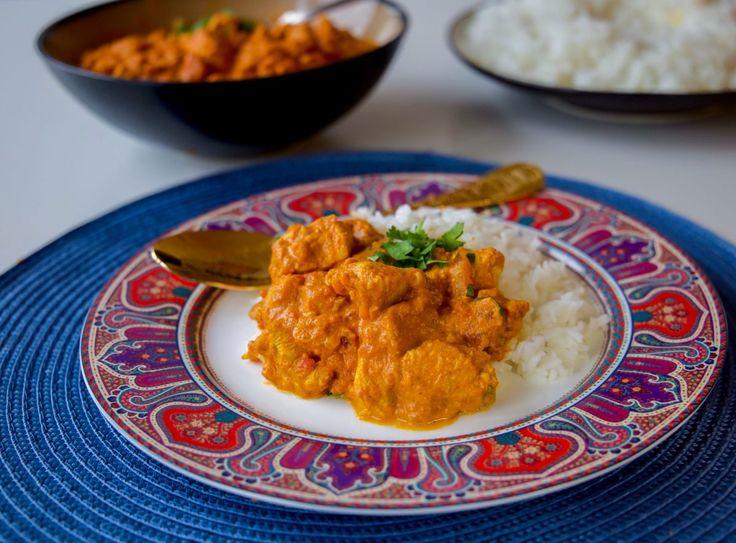 Tikka masala med kyckling eller oumph