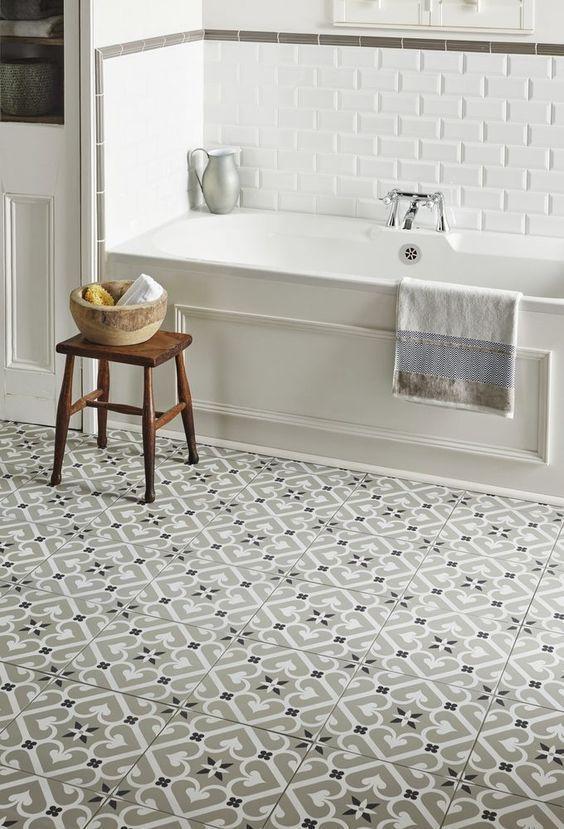 Small Bathroom Floor Cabinet: Best 25+ Cement Tiles Bathroom Ideas On Pinterest